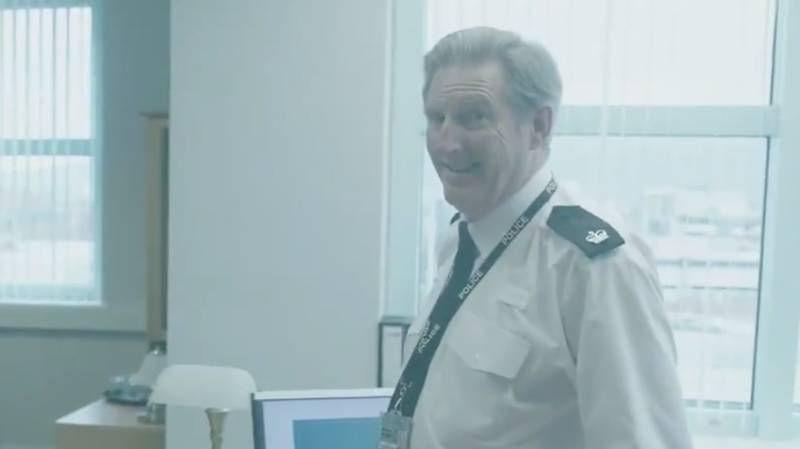 'Line Of Duty' Creator Jed Mercurio Shares A Hilarious Blooper Video