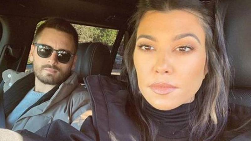 People Are Convinced Kourtney And Scott Are Back Together After Spotting This Detail