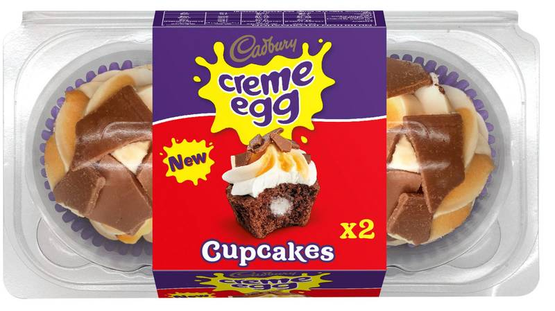 ​You Can Buy Creme Egg Cupcakes And It's A Dream Come True
