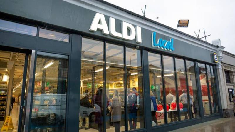 Smaller Aldi Local Opens Its Doors In South London