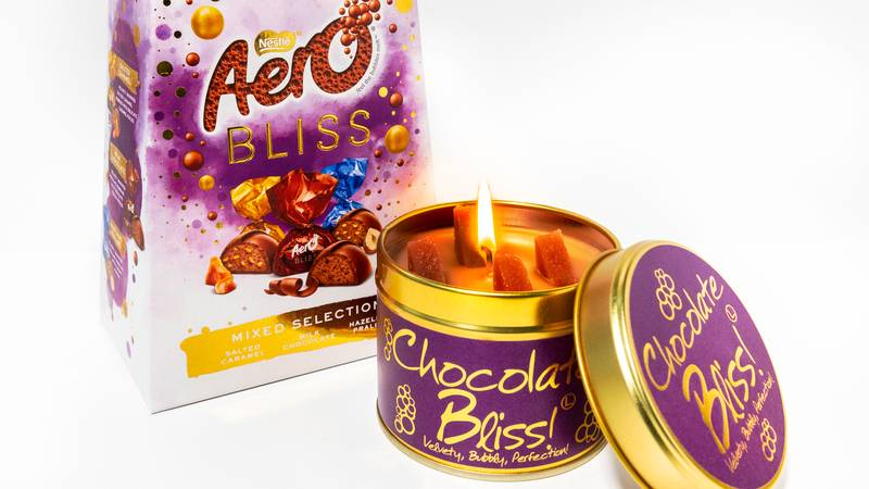 A Candle Which Smells Exactly Like Aero Chocolate Is Launching