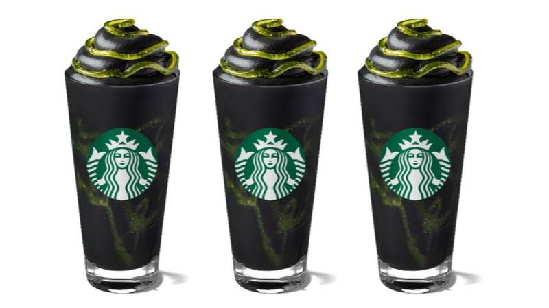 Starbucks' Phantom Frappuccino Is Here In Time For Halloween