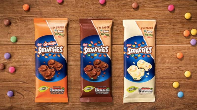 Smarties Launches New Milk, White And Orange Chocolate Sharing Blocks