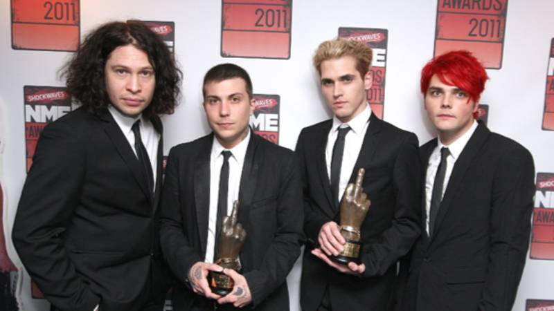 My Chemical Romance Are Officially Reuniting And OMG