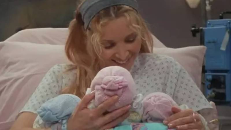 The 'Friends' Stars Who Played Phoebe's Baby Triplets Are Now All Grown Up