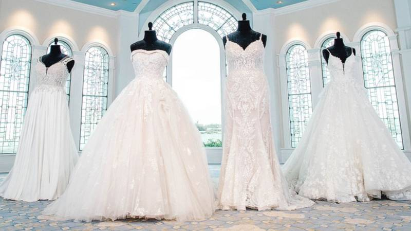 First Look At 2021 Disney Fairy Tale Wedding Collection Ahead Of 30th Anniversary Event
