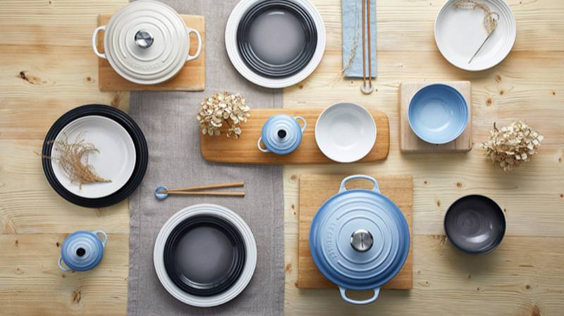 Le Creuset Has Launched A Gorgeous Pastel Blue 'Zen' Range