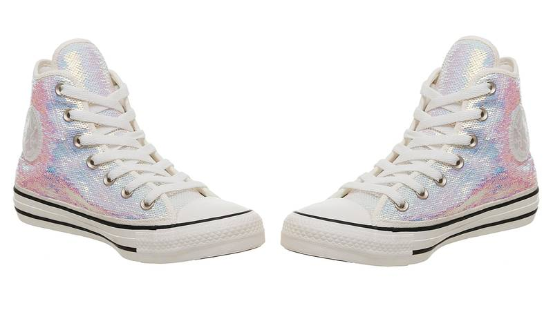 ​People Are Going Wild For These Iridescent Converse