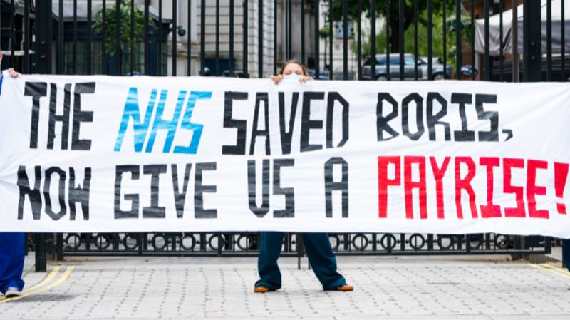 "Nurses And Social Workers Left Out Of NHS Pay Rise Call Move ""A Slap In The Face"""