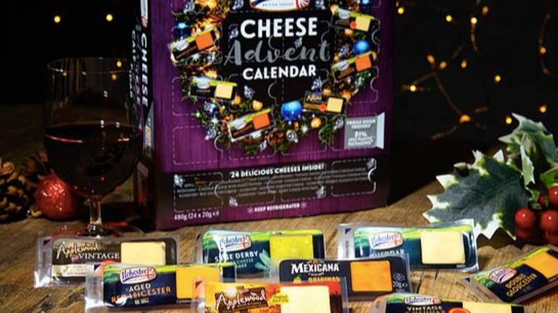 You Can Now Get A Cheese Advent Calendar This Christmas