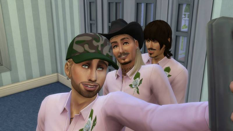 Someone Created Joe Exotic And The 'Tiger King' Cast On The Sims 4
