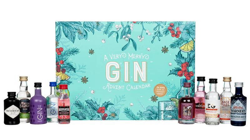 Gin Lovers Are Going To Need Costco's Advent Calendar With 24 Mini Bottles