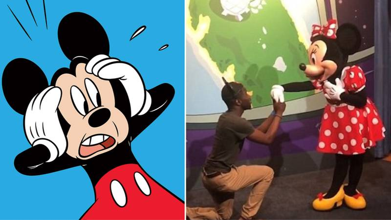 Someone Proposed To Minnie Mouse And Mickey Was Left Fuming