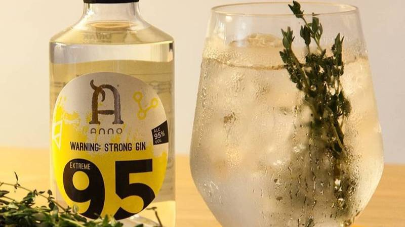 Anno Gin Launches World's Strongest Gin With 95% ABV - And It's Available To Buy For £30