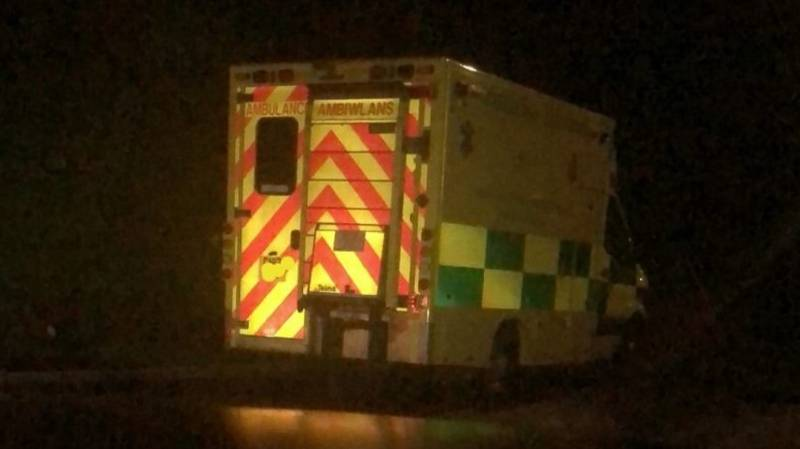 Ambulance Stolen And Trashed As Paramedics Treat Patient Inside Home