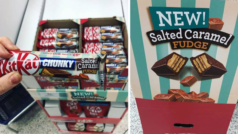 KitKat Chunky Now Comes In Salted Caramel Fudge
