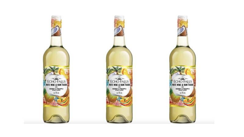 Echo Falls Launches Rum-Infused Wine That Tastes Of Coconut And Pineapple