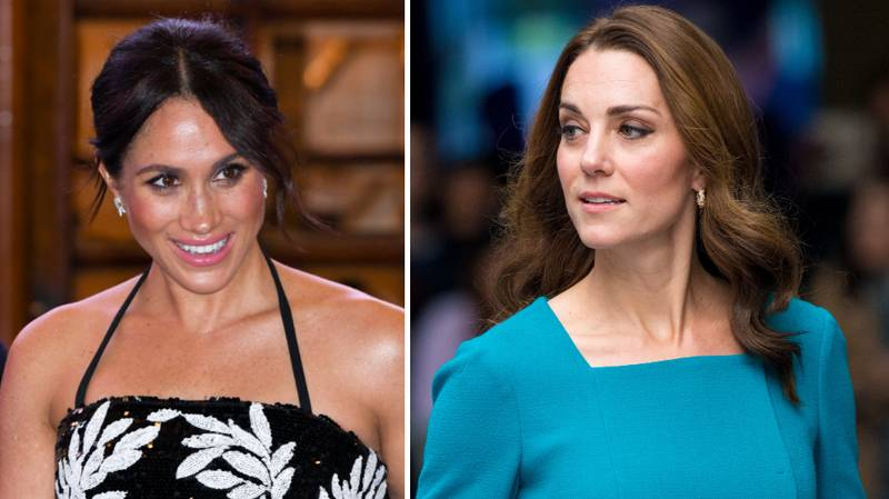 Kensington Palace Makes Rare Statement On Meghan Markle And Kate Middleton's 'Feud'