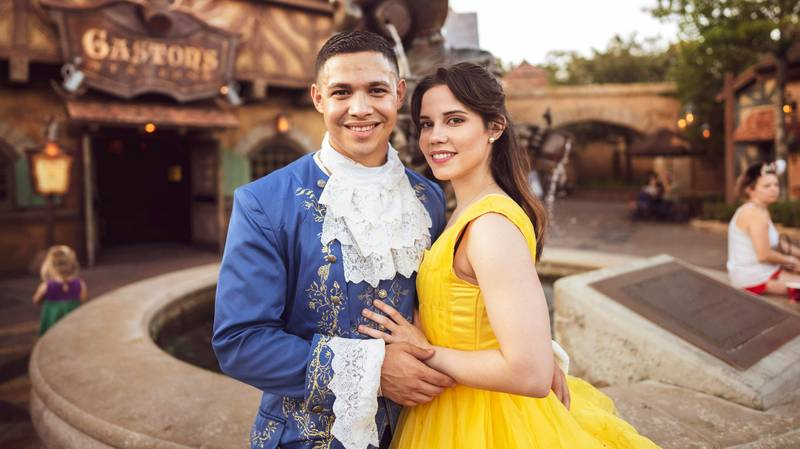 Man Stages Incredible 'Beauty And The Beast' Proposal At Disney World