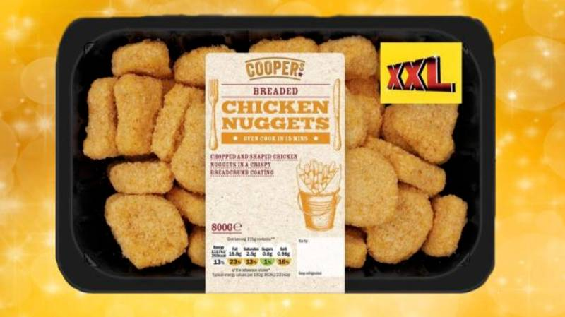 Lidl's Giant £4 Boxes Of Chicken Nuggets Are Back And Yum