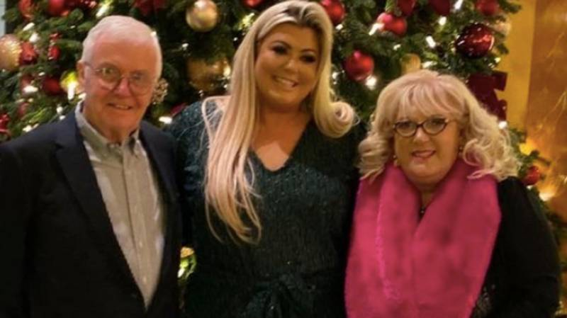 Gemma Collins Shares Heartbreaking Pic Of Her Dad Alan Battling Coronavirus