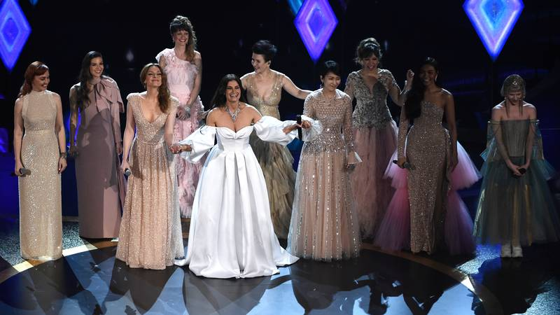 'Frozen' Fans Left Sobbing Over Elsa Choir Performance At The Oscars
