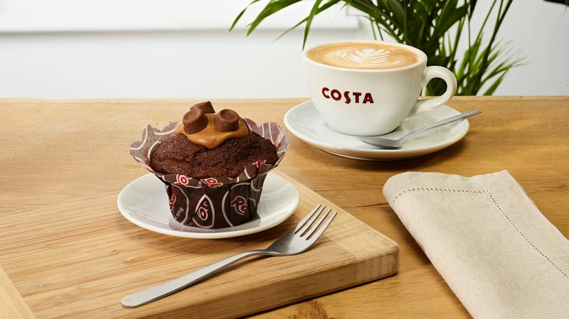 Costa's Launches New Spring Menu And It Includes A Rolo Muffin