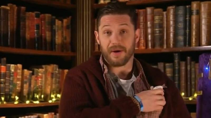 Mums Go Wild As Tom Hardy Returns To CBeebies 'Bedtime Stories'