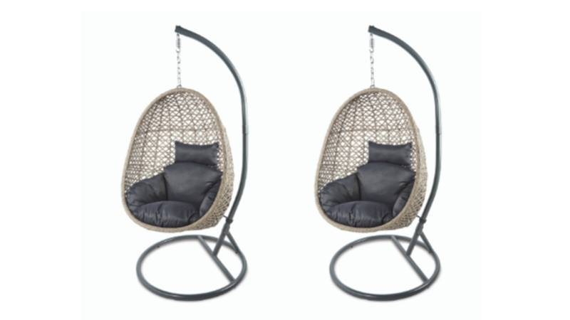 Aldi's Sell-Out Hanging Egg Chair Is Back In Stock This Weekend
