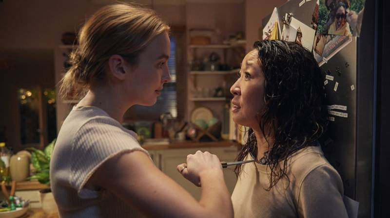 New 'Killing Eve' Pictures Show Villanelle Back In Action For Season 3