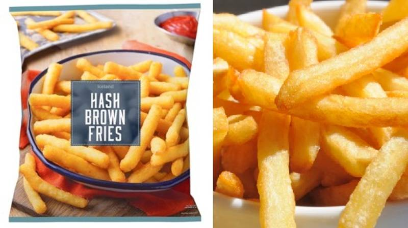 Iceland Is Selling Hash Brown Fries And They're A Real Game Changer
