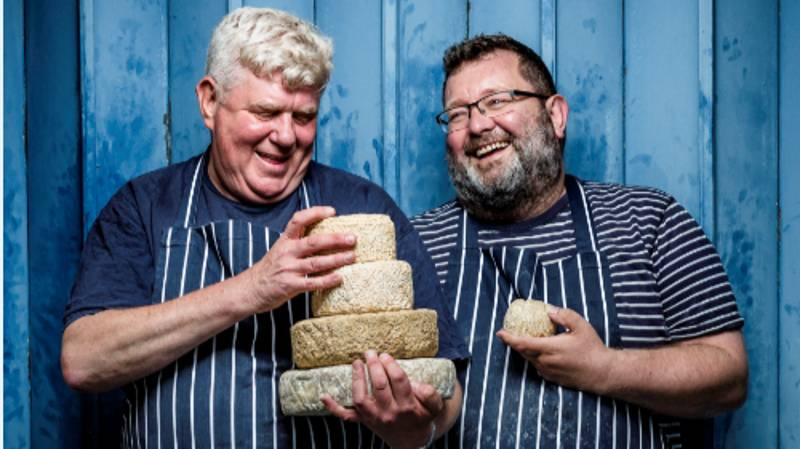 People Are Going Wild For This Cheesemaker's Alcoholic Cheese