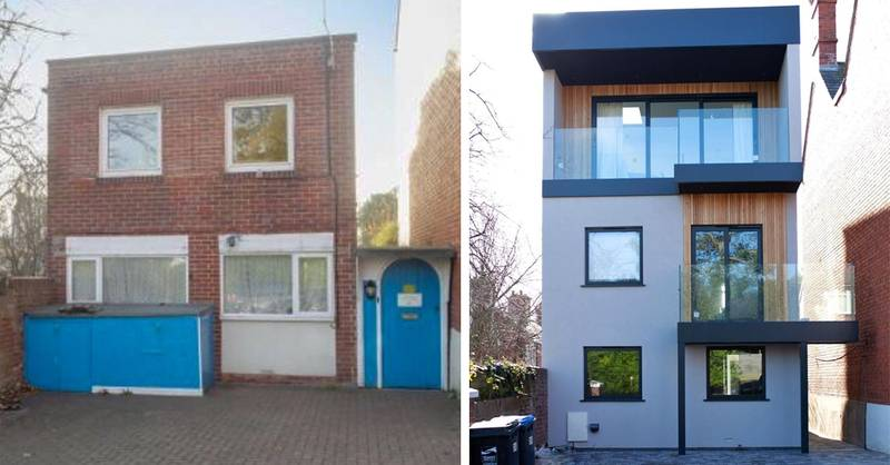 Woman Transforms 'Ugly' House And It Literally Looks Brand New