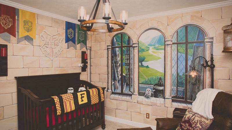 ​Parents Create A 'Harry Potter' Nursery And It's Magical