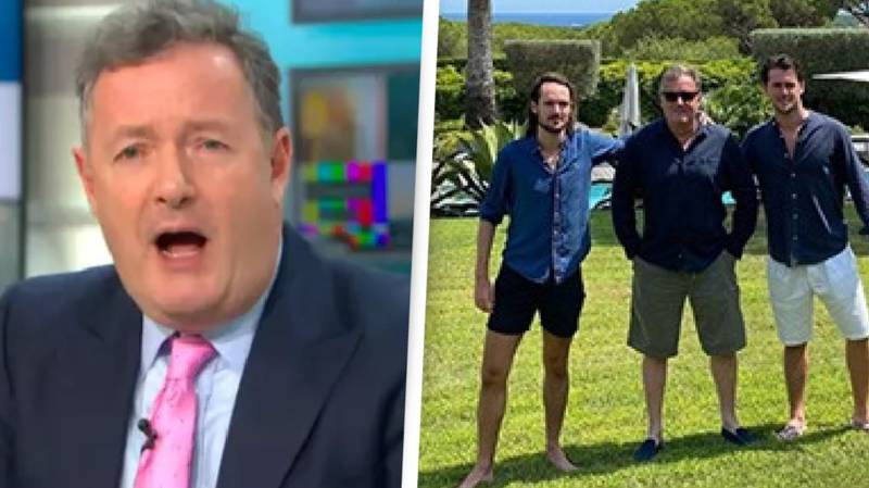 Piers Morgan Defends Himself After Admitting He Flew On Holiday To Antigua For Christmas