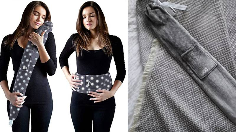 You Can Now Get A Huge Hot Water Bottle That You Can Wrap Around Yourself At Night