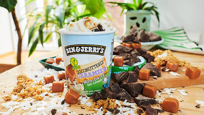 Ben & Jerry's Launches New Coconutterly Caramel'd Vegan Ice Cream Flavour
