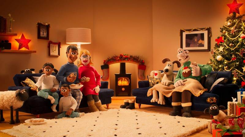 DFS Drop Wallace & Gromit Animated Christmas Advert And It's Just Too Cute