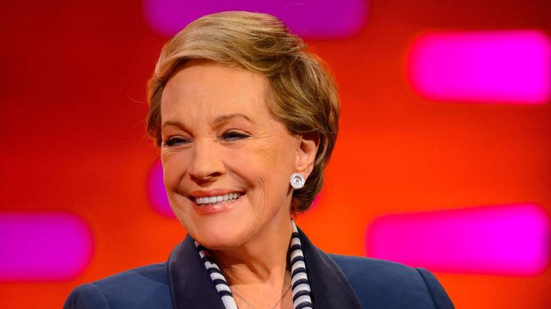 Dame Julie Andrews Is Launching Her Own Storytelling Podcast