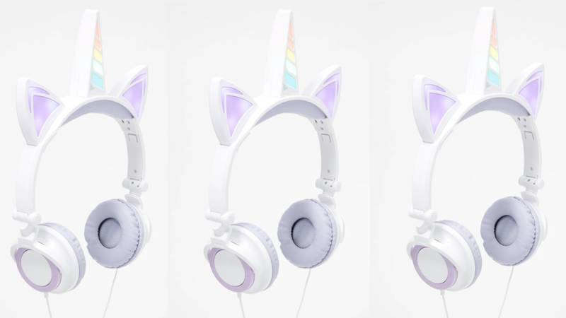 Home Bargains Is Selling Light-Up LED Unicorn Headphones And We Need Them