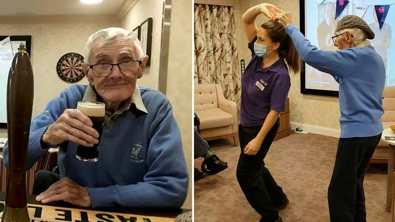 Pub Doing Roaring Trade After Opening Its Doors To Care Home Residents