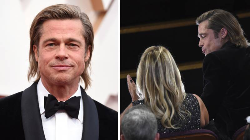 Brad Pitt Somehow Made Mullets Sexy At The Oscars