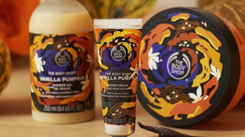 The Body Shop Has Launched A Vanilla Pumpkin Range