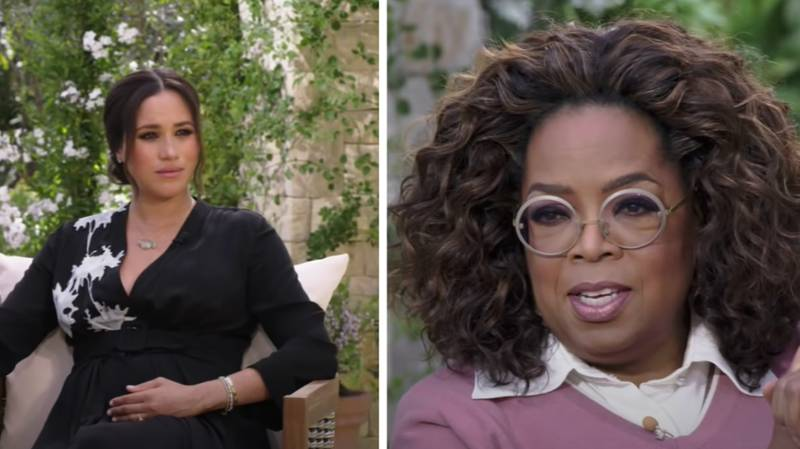 First Look At Prince Harry And Meghan Markle's Bombshell Oprah Winfrey Interview