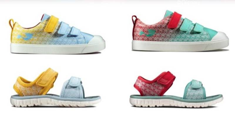Clarks Has Launched A 'Little Mermaid' Collection
