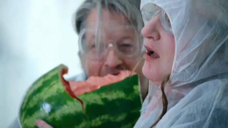Daisy May Cooper Devouring An Entire Melon Is The Most Iconic TV Moment Of 2020