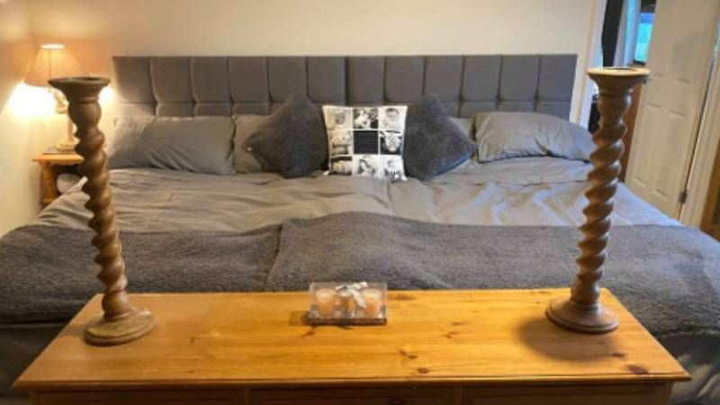 Woman Creates Incredible 9ft Bed That Fits Her Entire Family