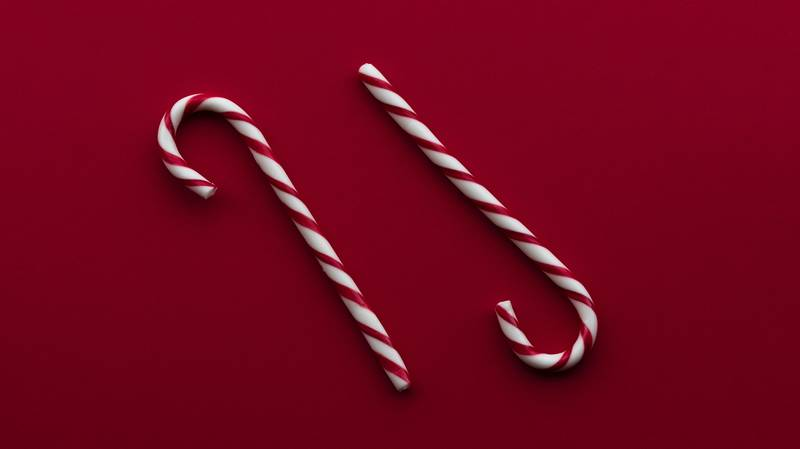 Candy Cane Is The Sweetest Hair Colour For Christmas - Here's How To Get It