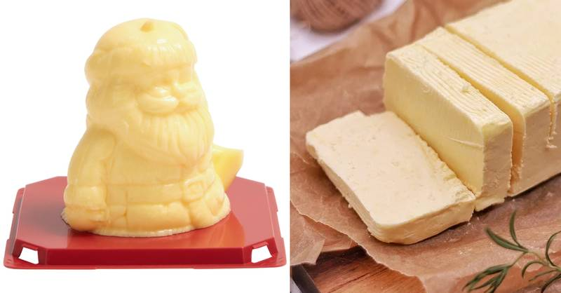 You Can Now Buy Snowman Shaped Butter And It's Gloriously Festive