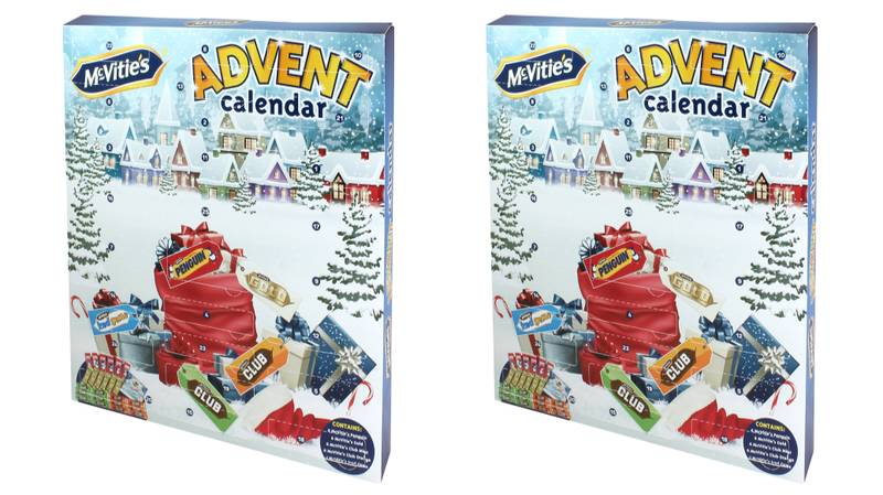 Biscuit Lovers, B&M Has Released A McVitie's Advent Calendar